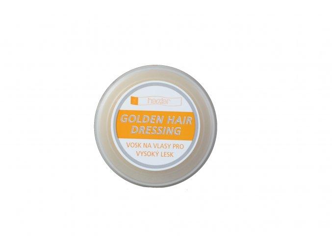 Golden Hair Dressing - Vosk na vlasy pro vysoký lesk