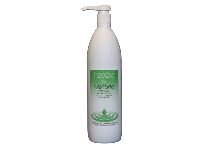 Vlasový šampon Professional pro mastné vlasy s dávkovací pumpou 1000 ml
