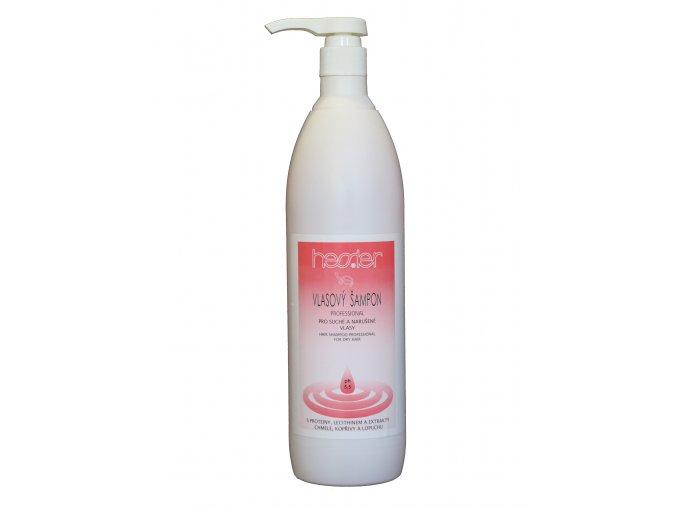 Vlasový šampon Professional pro suché vlasy s dávkovací pumpou 1000 ml