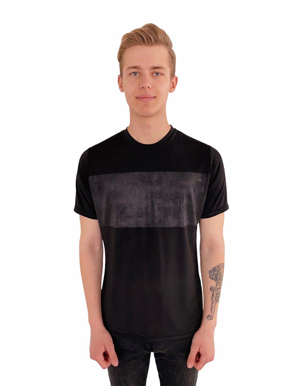 Pánské taneční triko Super Soft černé