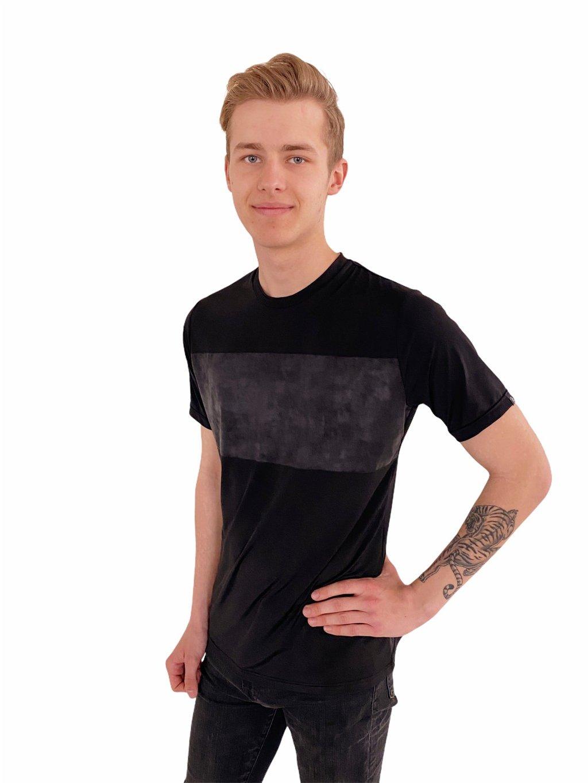 Pánské taneční triko Basic černé