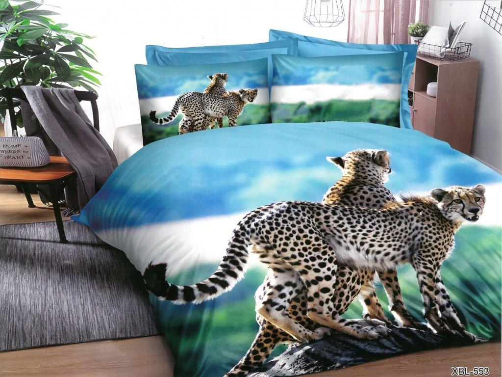 Gepard modrá