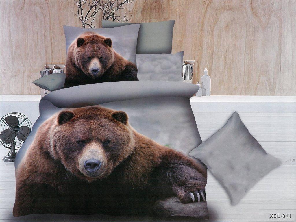 Povlečení s medvědem