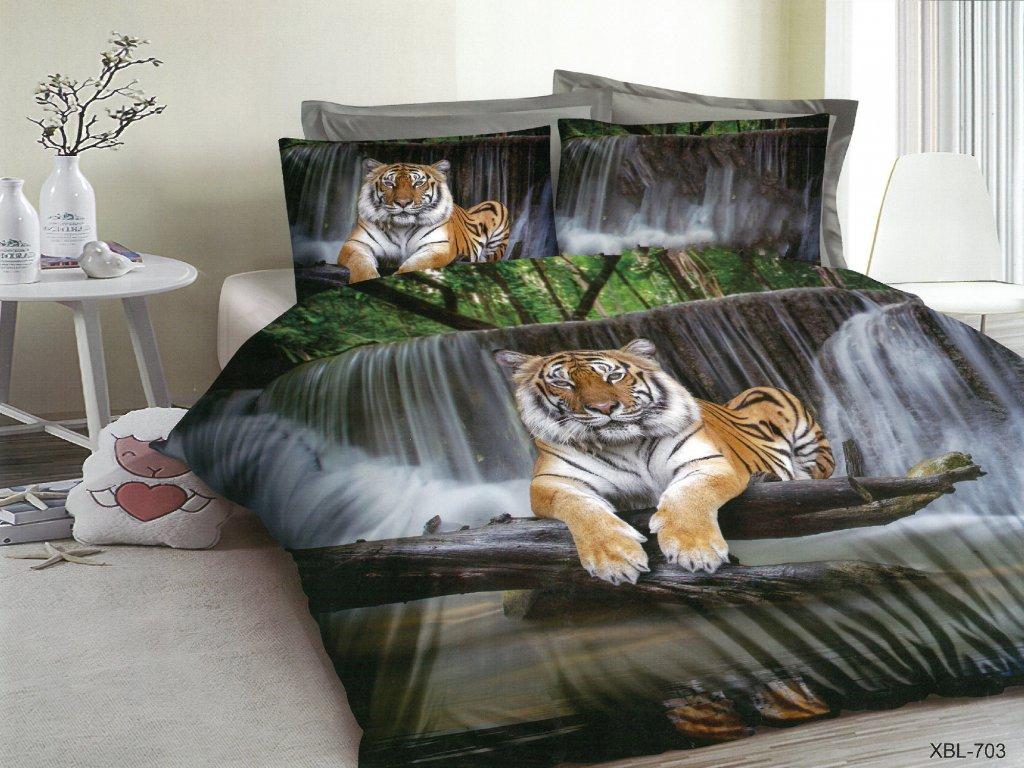 3D Povlečení s tygrem