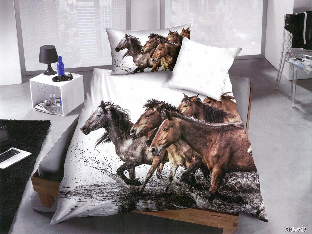 3D Povlečení koně