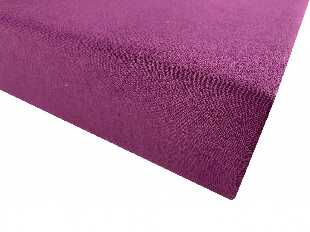 Prostěradlo bavlna fialová