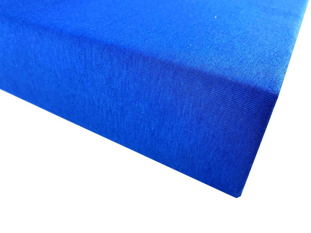 Prostěradlo bavlna modrá