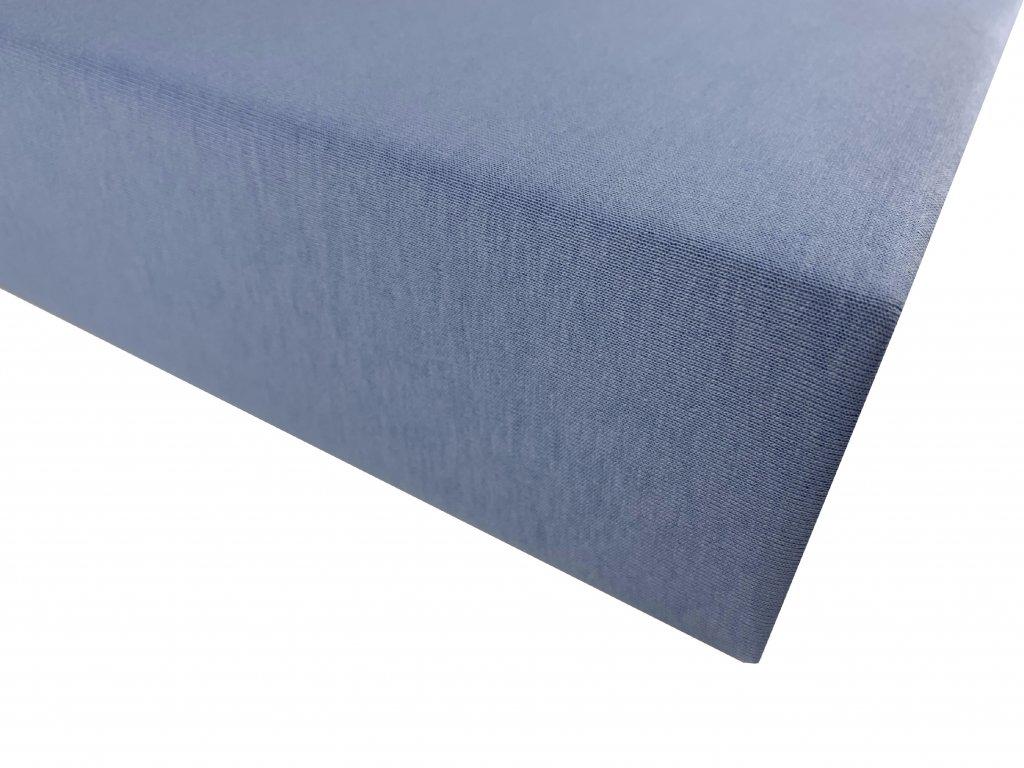 Prostěradlo bavlna světle modrá