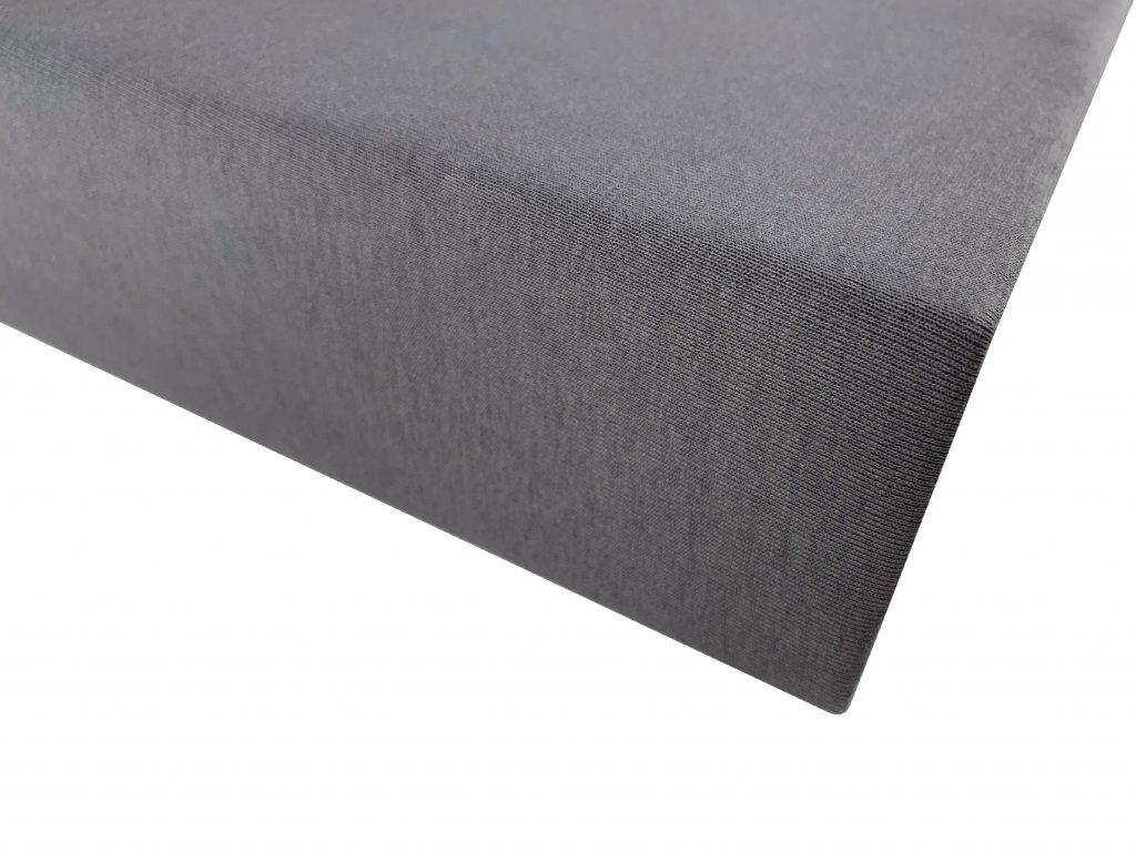 Prostěradlo bavlna šedá