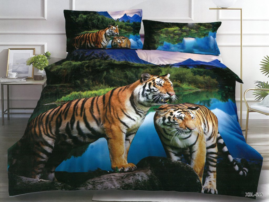 Tygři modrá 3