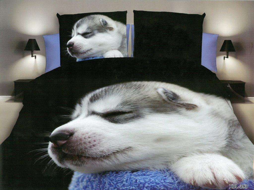 3D Povlečení štěně