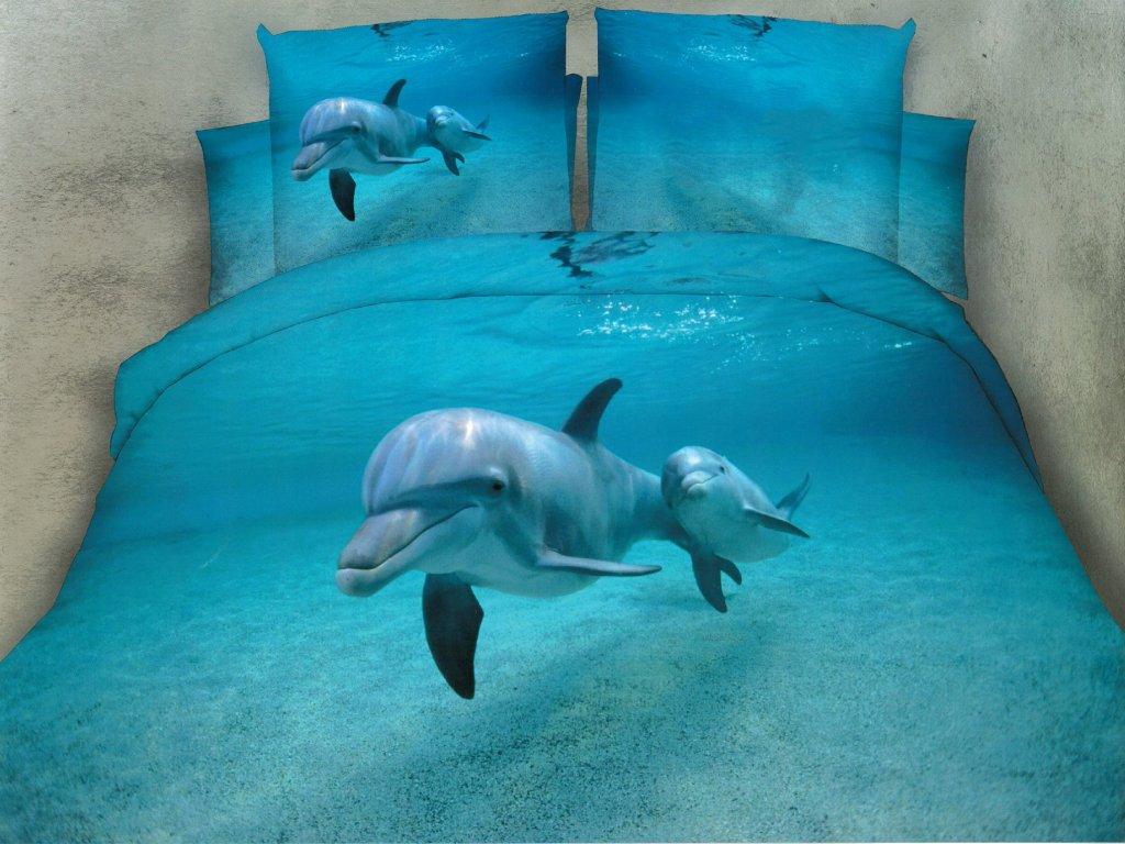 3D Povlečení delfín