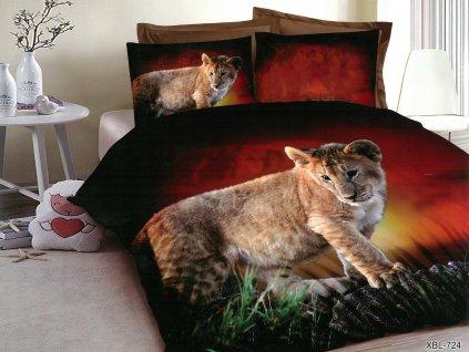3D Povlečení s tygřími mláďaty