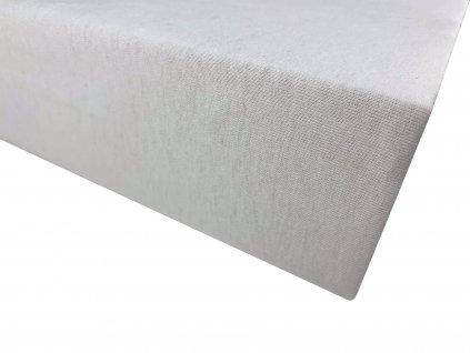 Prostěradlo bavlna bílá 1