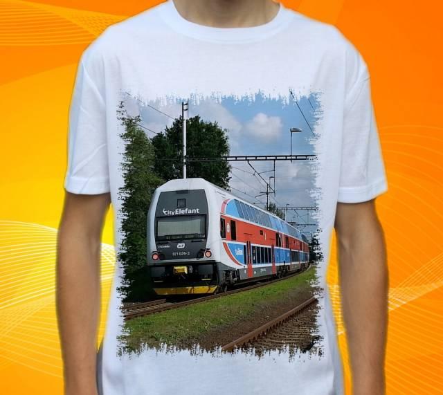 Nová trička s vlaky