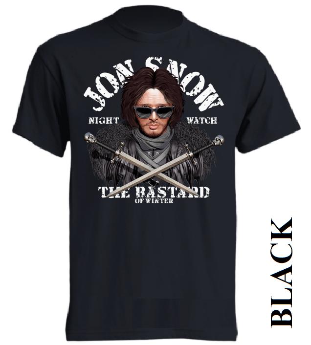 Nové dětské a pánské tričko Jon Snow