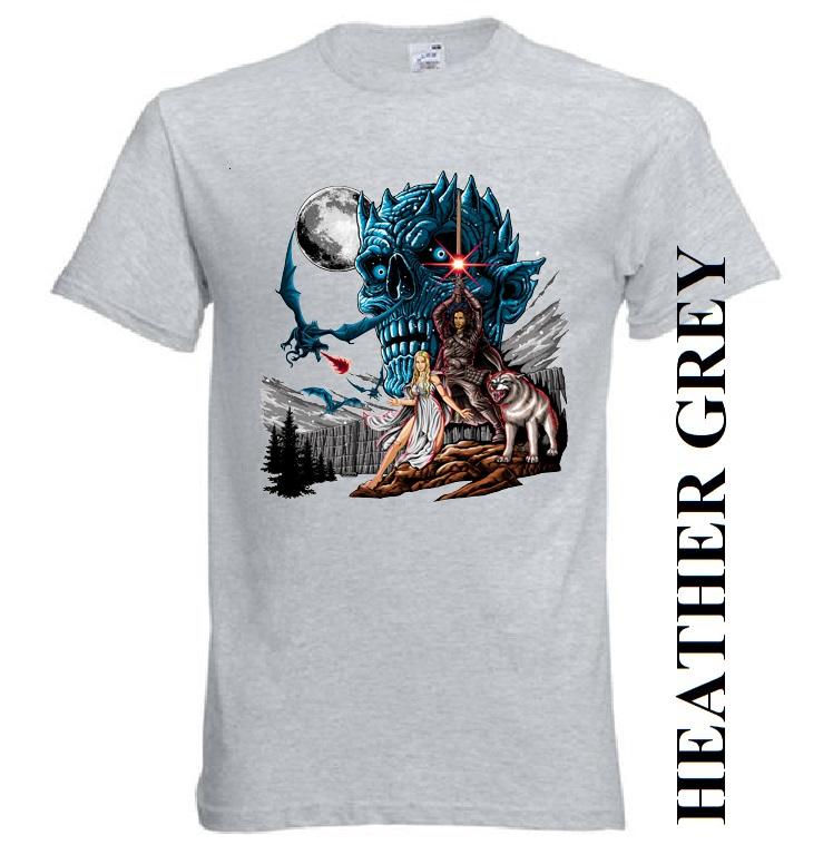 Nové dětské a pánské tričko Noční král