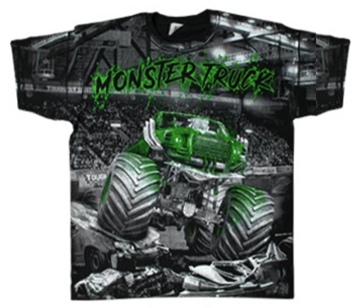 Nová trička Full print