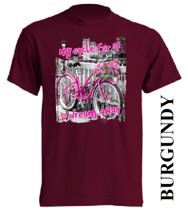 Nové dětské tričko kolo v 15 barvách