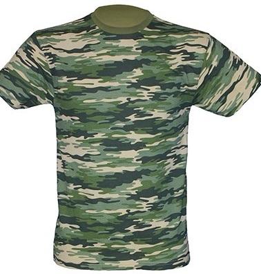 Nové maskáčové tričko Camouflage