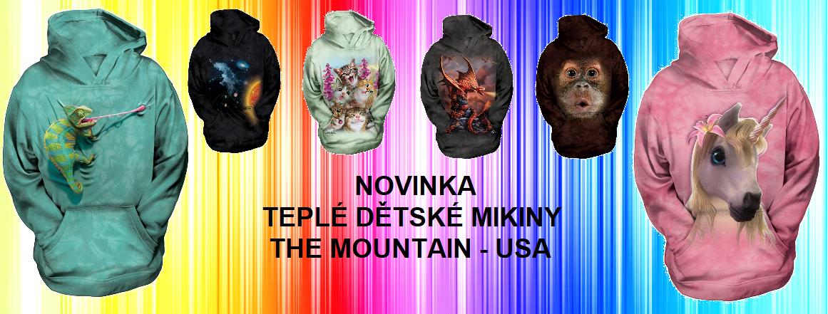 Dětské mikiny the Mountain