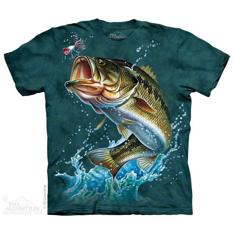 Oblečení s potiskem rybářů