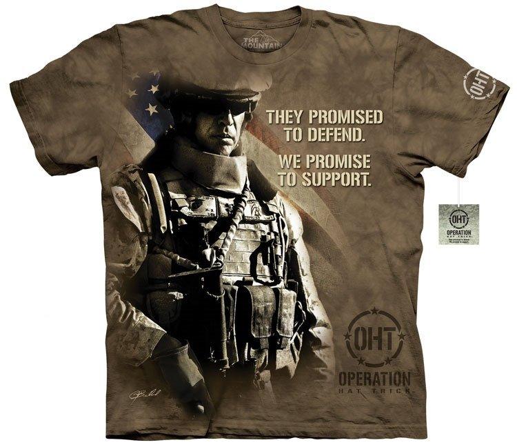 Oblečení s potiskem army