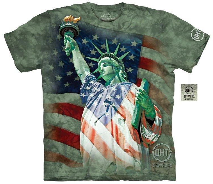 Oblečení s potiskem USA