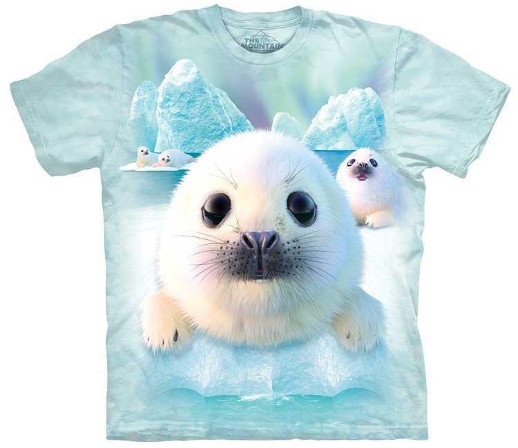 Oblečení s potiskem vodních zvířat