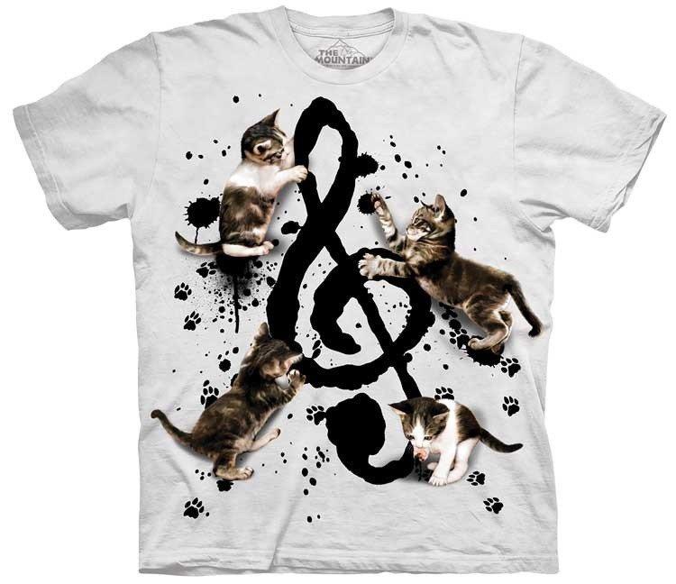 Oblečení s hudebním potiskem