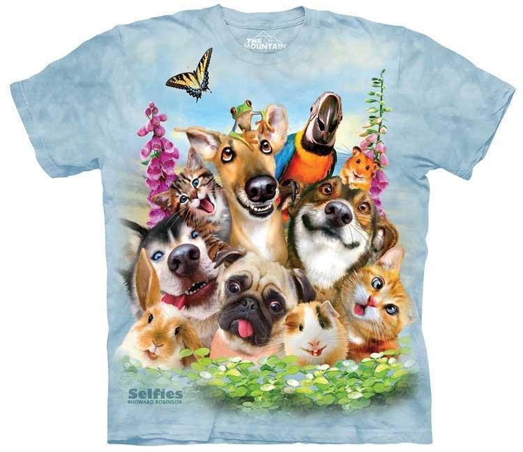 Oblečení s potiskem zvířat