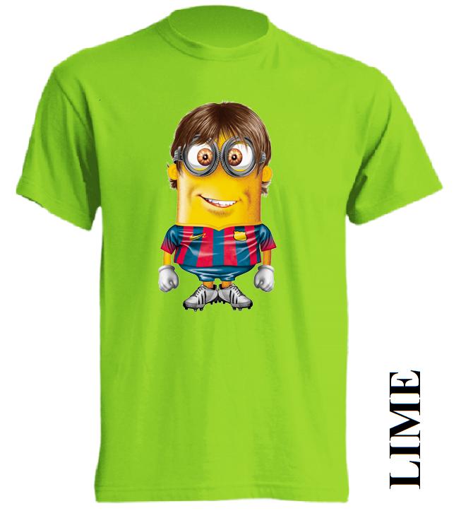 Dětská trička limetková