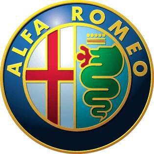 Dětská trička s potiskem aut Alfa Romeo