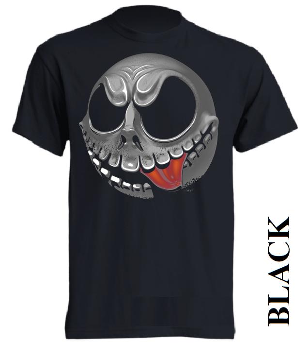Černé dětské 3D tričko
