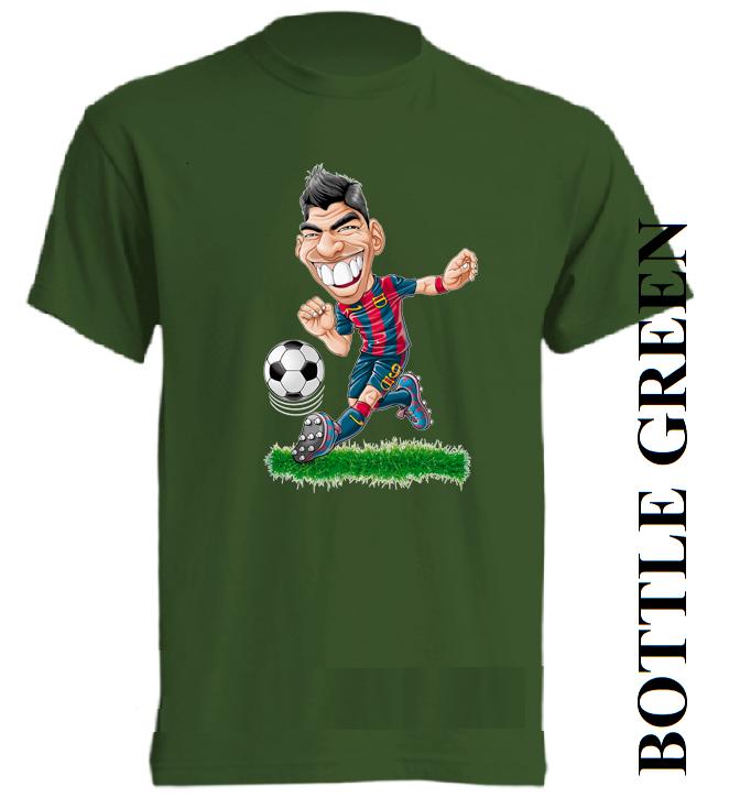 Dětská trička tmavě zelená