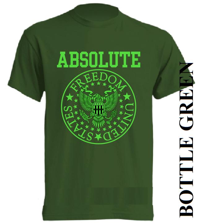 Tmavě zelená trička
