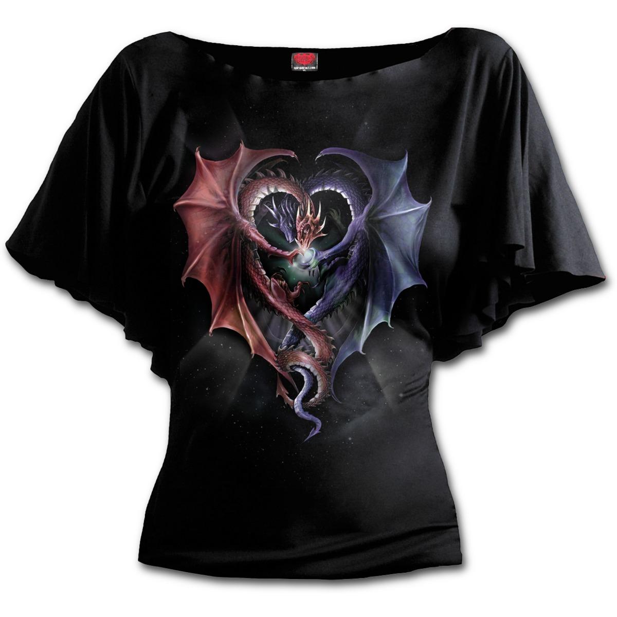 Dámská trička SPIRAL