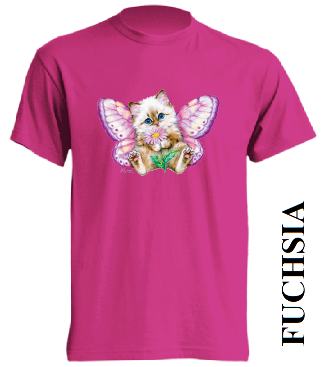 Dětská trička tmavě růžová