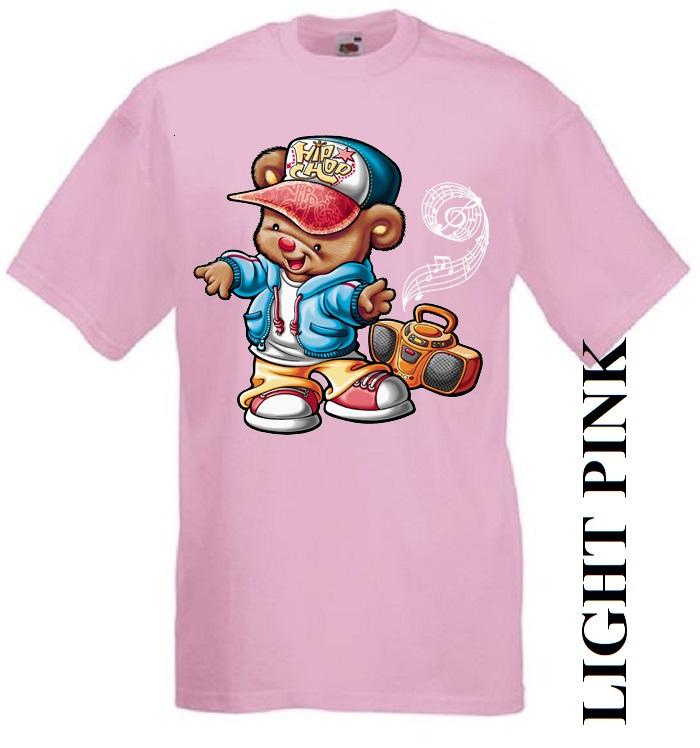 Dětská trička růžová