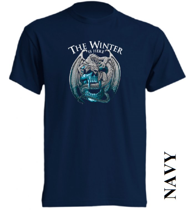 Tmavě modrá trička