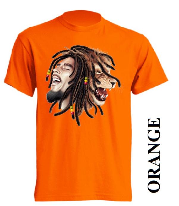 Oranžová trička