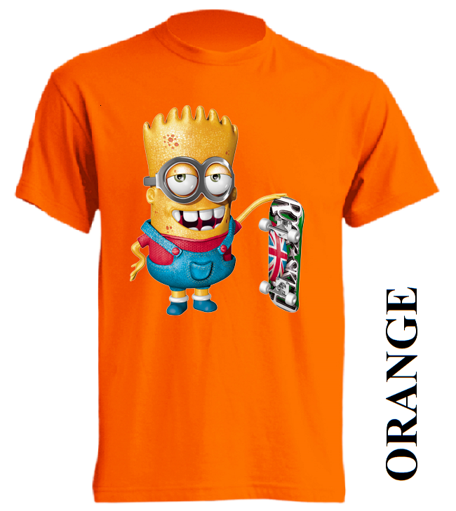 Dětská trička oranžová