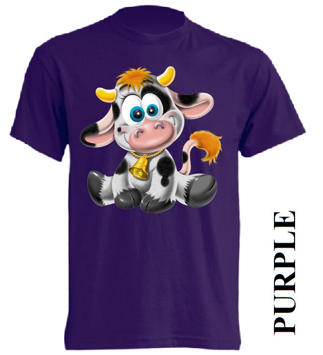 Dětská trička fialová