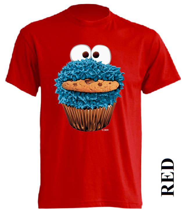 Červené dětské 3D tričko
