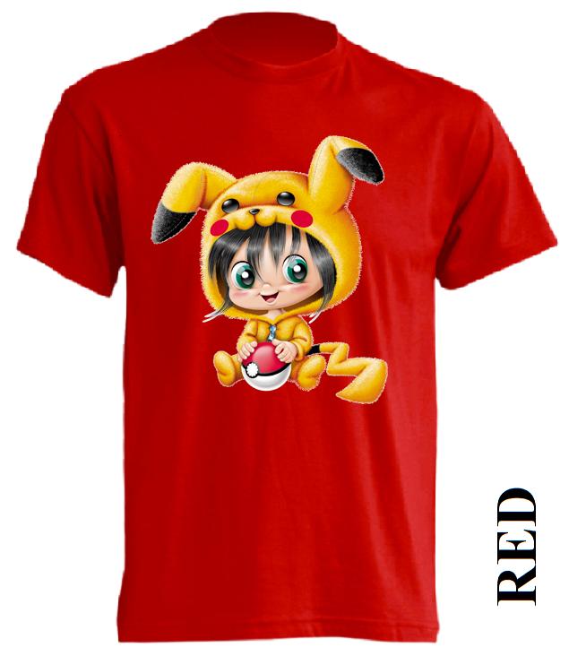 Dětská trička červená