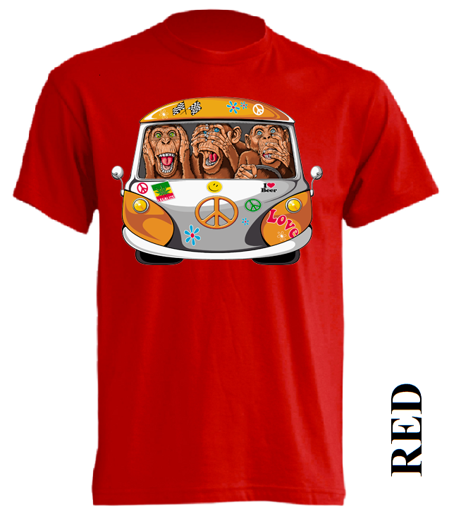 Červená trička