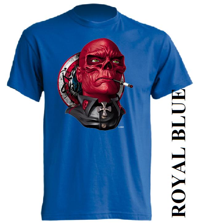 Modré dětské 3D tričko