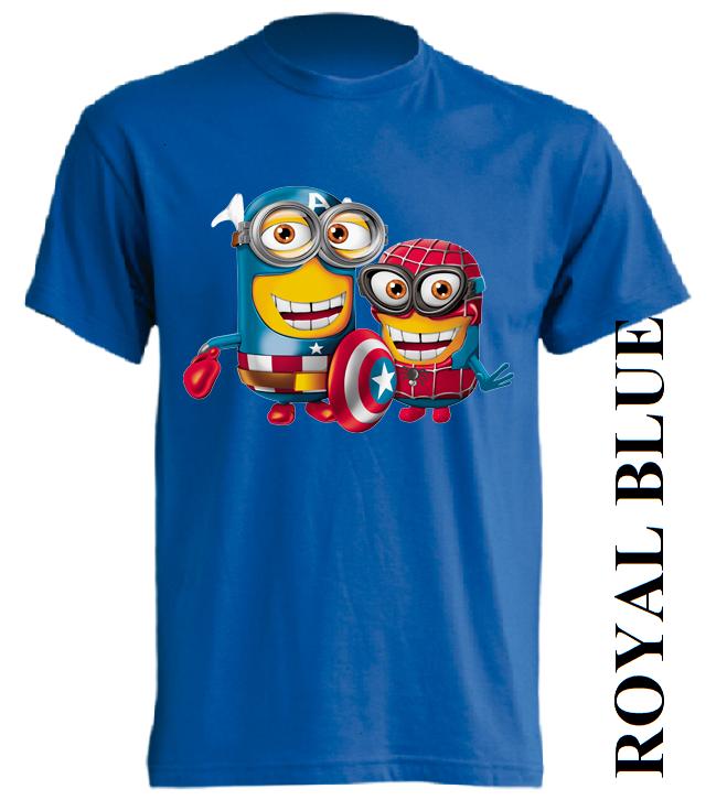 Dětská trička modrá