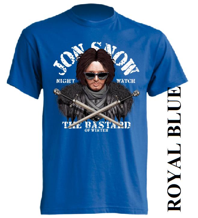 Modré trička