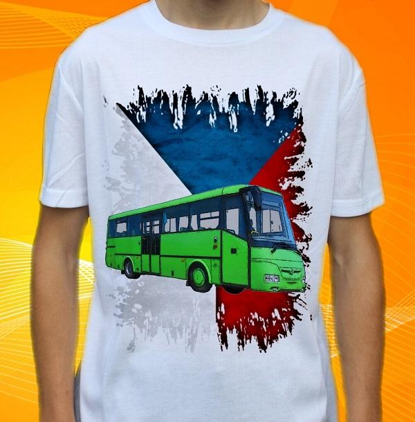Fototrička Autobusy, trolejbusy, tramvaje